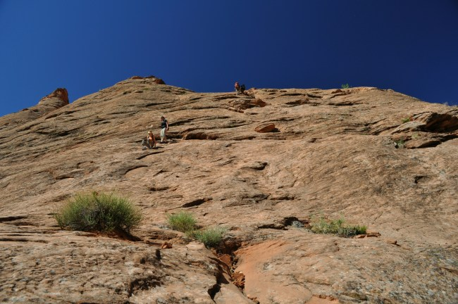 Coyote Gulch, Sneaker Route, directions