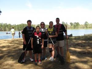 Family Canoe time