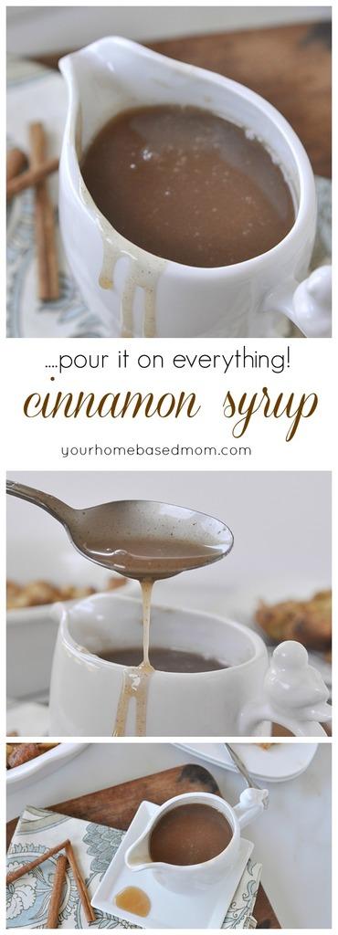 Cinnamon Syrup Recipe | Your Homebased Mom