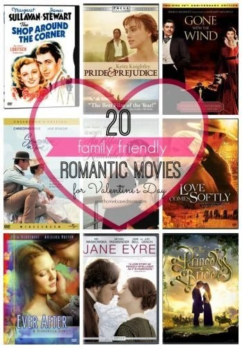 20 Family Friendly Romantic Movies For Valentines Day