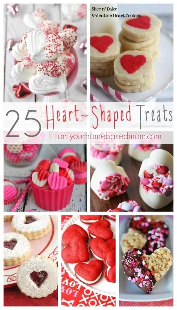 25 Heart Shaped Treats Your Homebased Mom