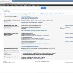 Gmail mailadres instellen