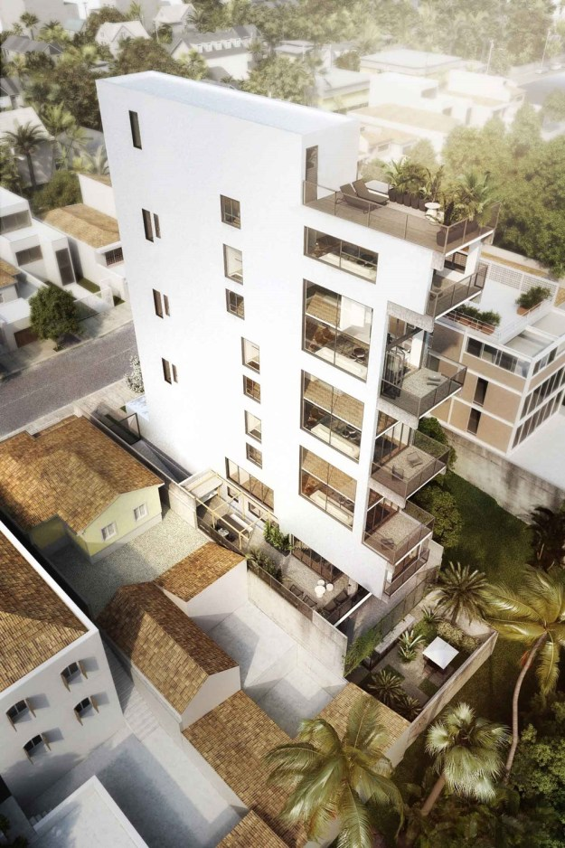 AIR-Madalena Building with six lofts designed by Triptyque 5