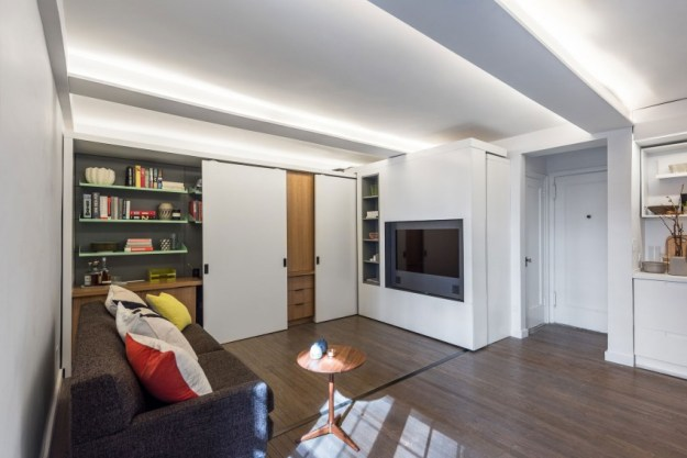 Five to One Apartment interior was designed by MKCA 2