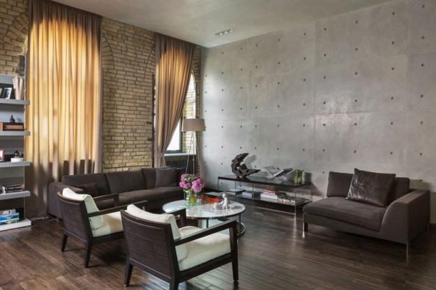 The Podil Loft Apartment designed by Sergey Makhno 1
