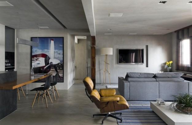 Real Parque Loft designed by Diego Revollo 3