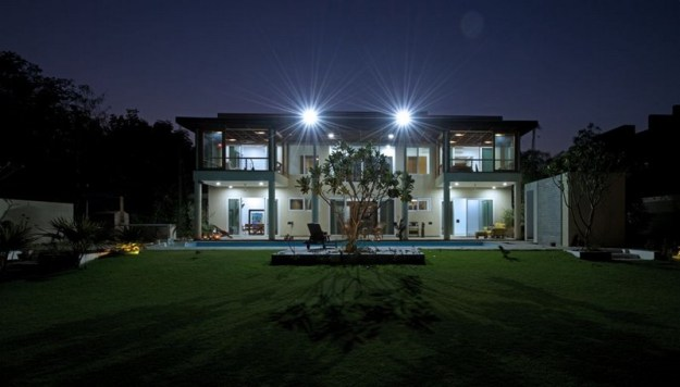 The Light-Play House designed by Hiren Patel Architects 3