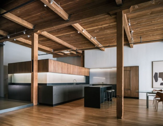 San Francisco Loft designed by LINEOFFICE Architecture 2