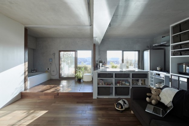 Bath Kitchen House designed by Takeshi Shikauchi 2