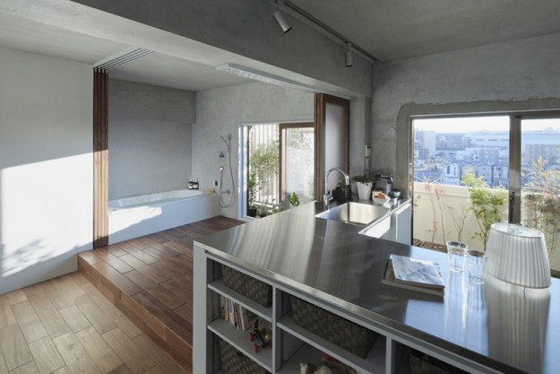 Bath Kitchen House designed by Takeshi Shikauchi 5