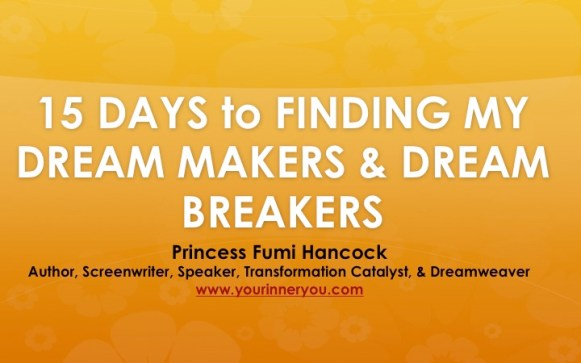 15 Days Dream Makers Challenge