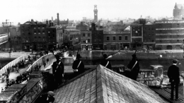 1916 Easter Rising at Dublin GPO