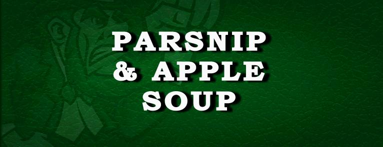 Parsnip & Apple Soup Recipe