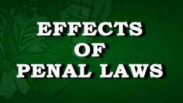 The Penal Laws in Irish Society