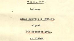 The Anglo-Irish Treaty of 1920