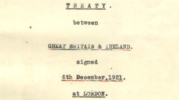 The Anglo-Irish Treaty of 1920