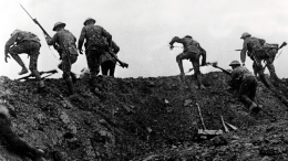 Going over the top at the Battle of the Somme