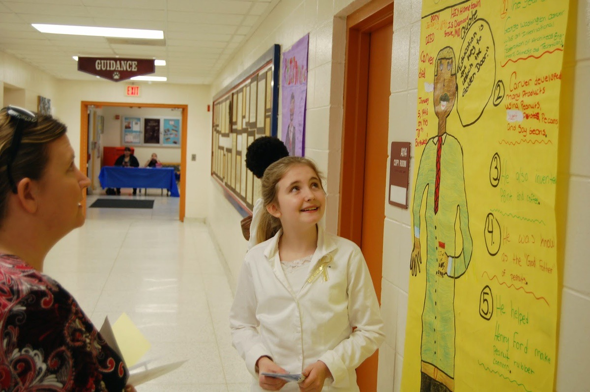 6th Grade At Lady S Island Middle Explores Black History