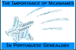 The Importance of Nicknames in Portuguese Genealogy