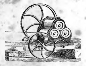 horizontal sugar mill 1860