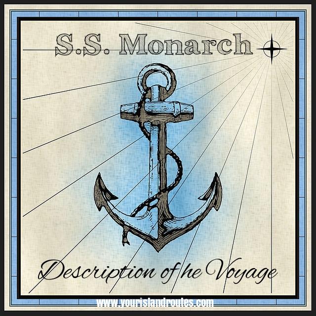 S.S. Monarch ship to hawaii