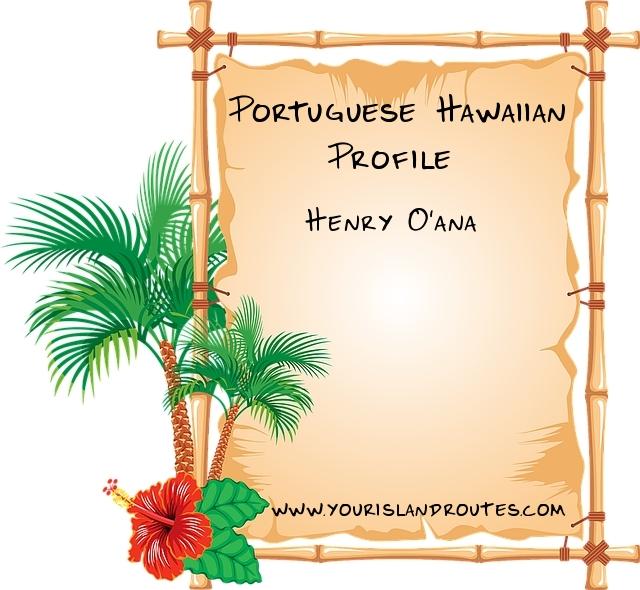 Henry O'ana baseball player hawaii