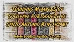 Founding Members of Sociedade Portugueze de Santo Antonio Beneficent