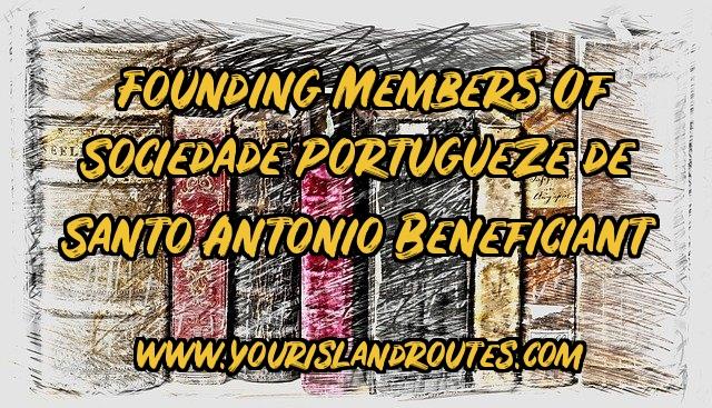 founders santo antonio society