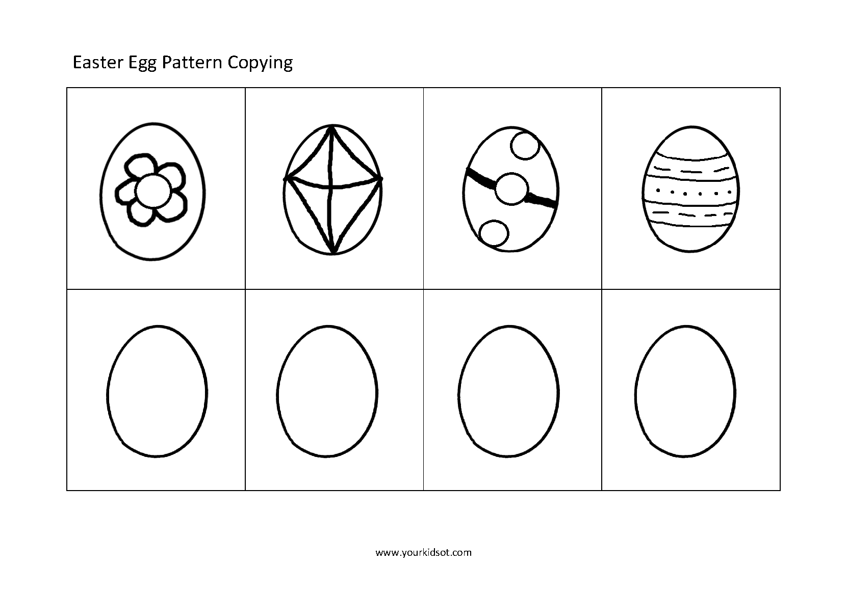 Free Easter Egg Patterns