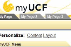 MYUCF Portal Login