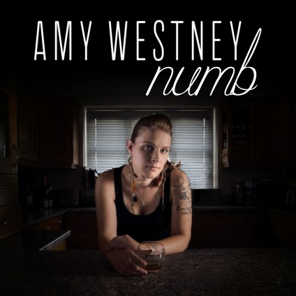 numb single cover bold font