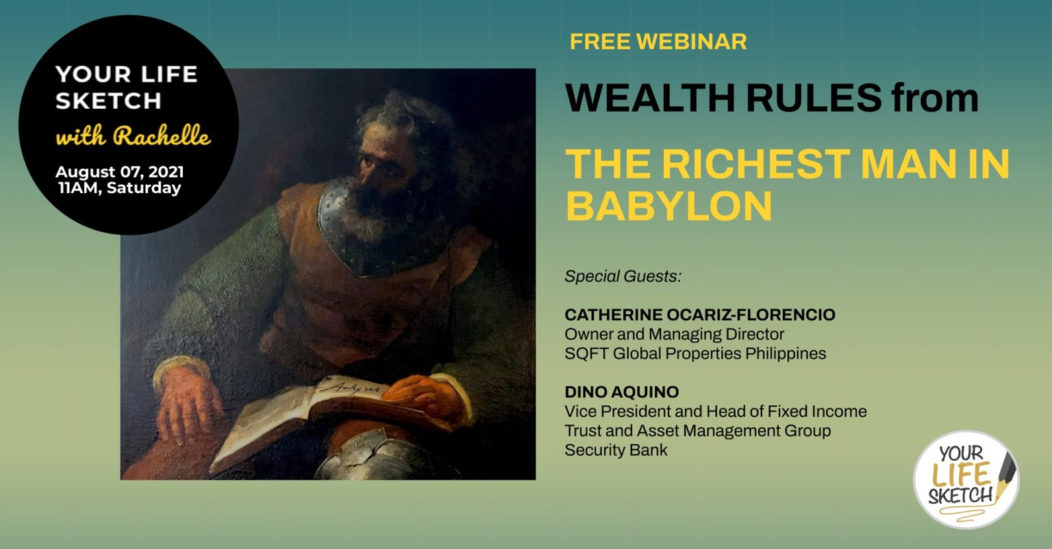 YLS Free Webinar: The Richest Man in Babylon