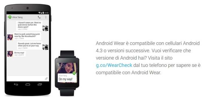 Android Wear Compatibility