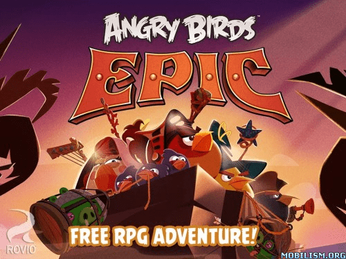 Trucchi, cheat, hack Angry Birds Epic [Mod Money] 1.0.8 APK Android: soldi infiniti e illimitati