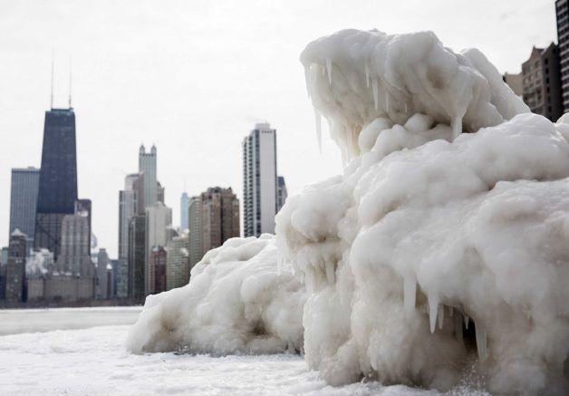 america usa ghiaccio vortice polare freddo