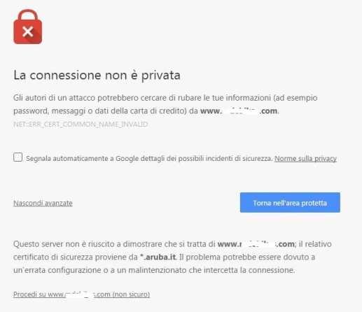 Errore-Chrome