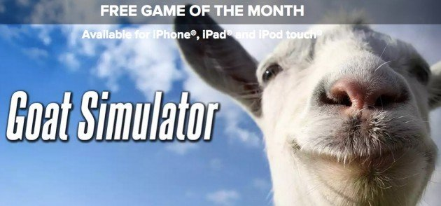 Download Goat Simulator per iPhone, iPad, iPod gratis