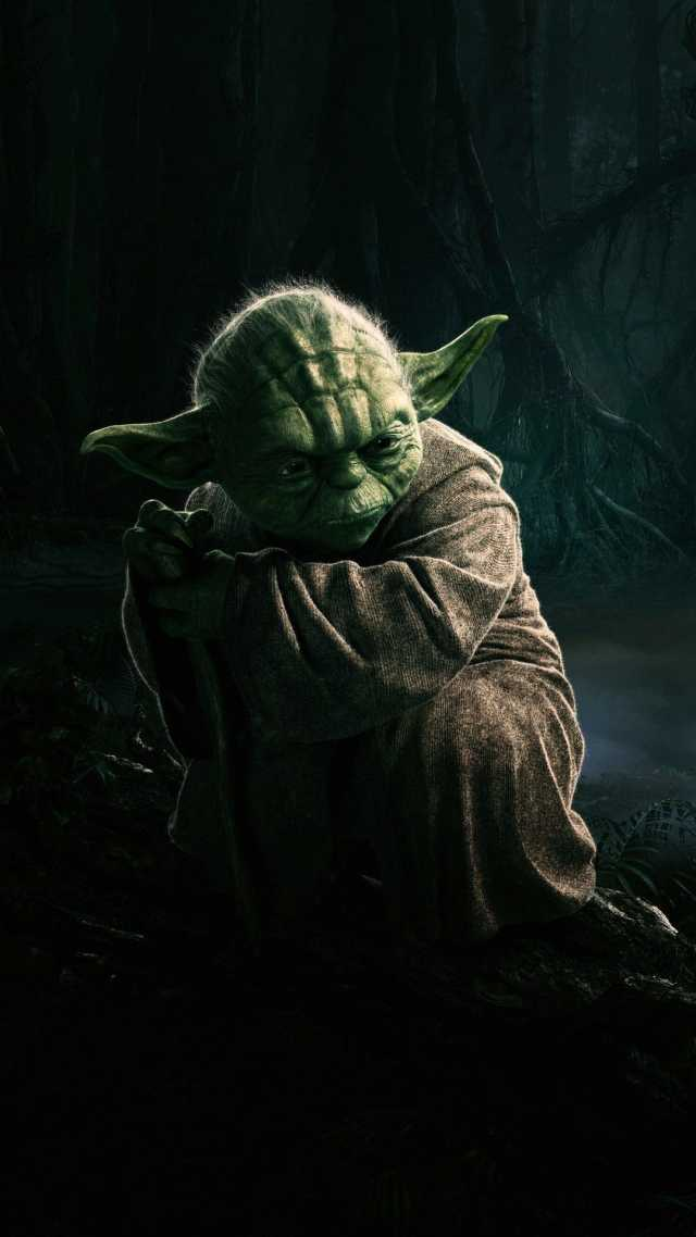 HD Yoda Illustration Star Wars Android Wallpaper