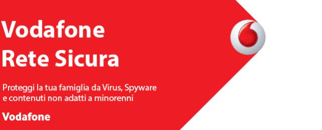 Disattivare Vodafone Rete Sicura