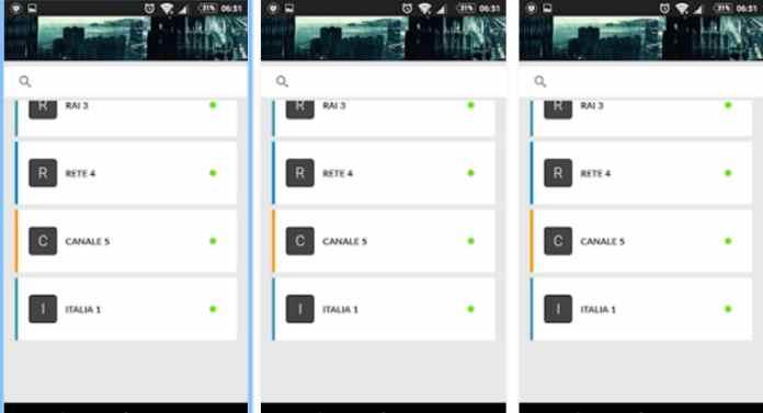 TV e Televisione su Android con TV ITALIANE