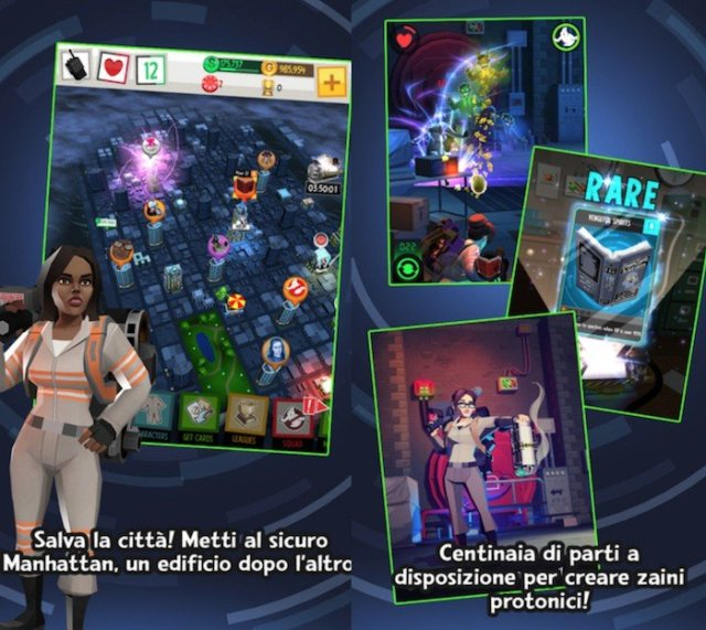 meTrucchi Ghostbusters Slime City iOS, iPhone, iPad_ipho