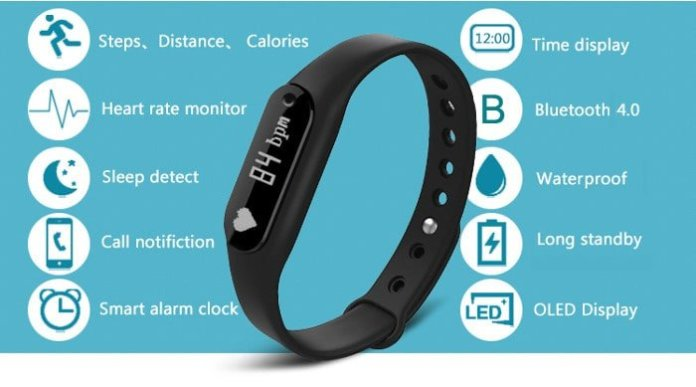 recensione-b6-bluetooth-smart-wristband