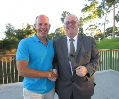 Limo HIre Perth with Phil Spencer