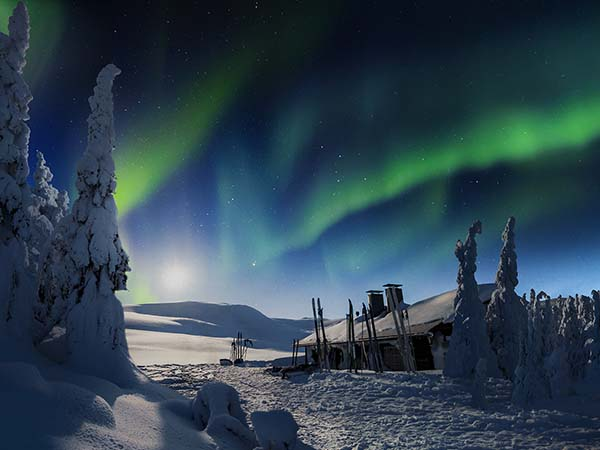 Best Time See Northern Lights Lapland