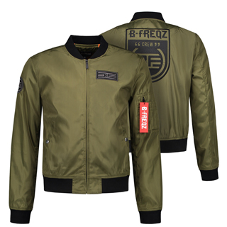 your merchandise bomberjacket b-freqz jacket