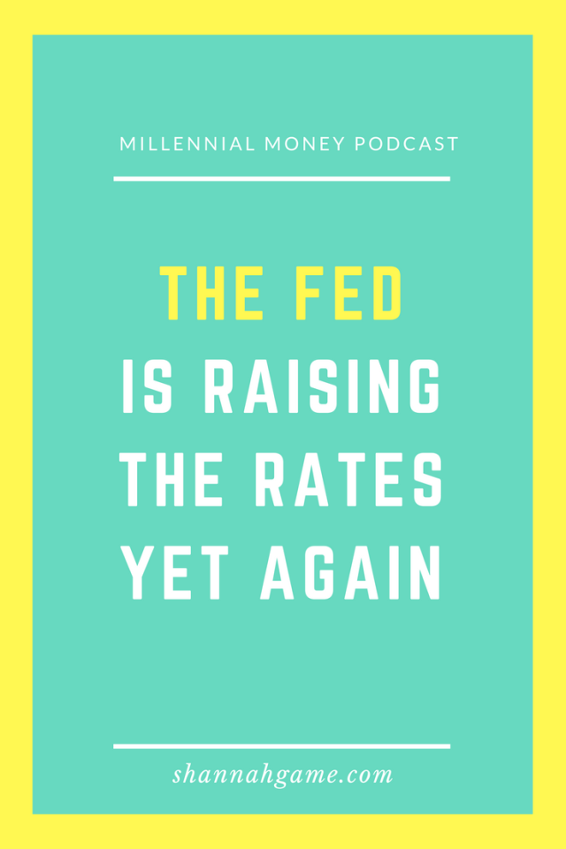 If you have a credit card or a mortgage the Feds interest rate hike will affect you.