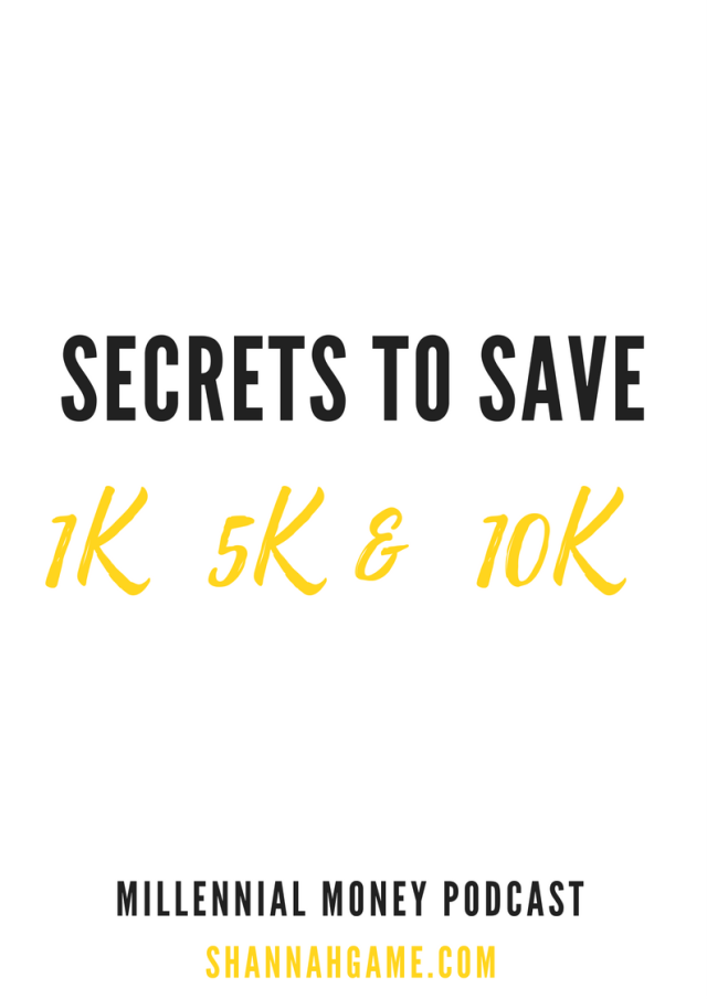 Want to know how to save money? I've got tips to help you save 1K, 5K and even 10K this summer.