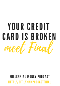 If you've ever been a victim of credit card theft you know what a pain in the butt it can be to sort out. I'm talking with Aaron from Final, a company that is helping you take back control of your credit spending.