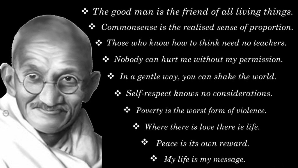 Gandhi Facts Inspired By Biography Of Mahatma Gandhi 2