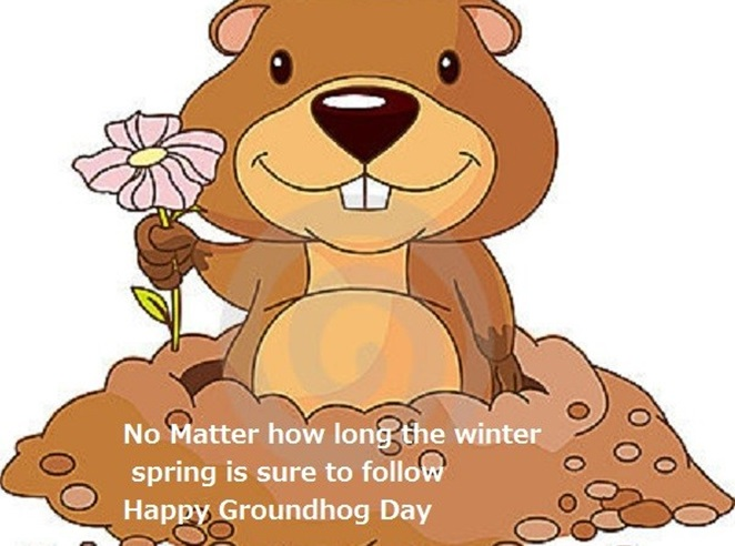 happy groundhog day motivational wishes quotes_happy groundhog day